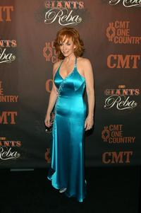 Reba McEntire at the Country Music Televisions CMT Giants honoring Reba McEntire.