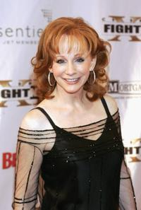 Reba McEntire at the Celebrity Fight Night XII.