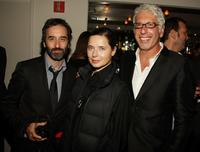 Don McKellar, Isabella Rossellini and Producer Niv Fichman at the after party of the screening of