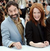 Don McKellar and Julianne Moore at the photocall of