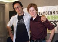 Don McKellar and Mark Rendal at the press conference of