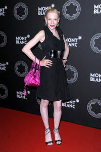 Sunnyi Melles at the Montblanc De La Culture Arts Patronage Award 2011 in Germany.