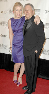 Singer/song writer Natasha Bedingfield and Alan Menken at the 39th Annual Songwriters Hall of Fame Awards.