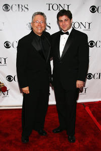 Alan Menken and Glenn Slater at the 62nd Annual Tony Awards.
