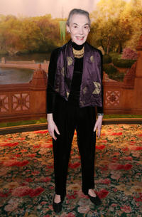 Zoe Caldwell at the Neighborhood Playhouse School of the Theatre 80th Anniversary Gala and Reunion in New York.