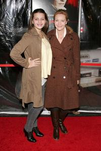 Joan Allen and daughter Sadie Friedman at the New York premiere of