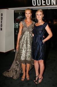 Joan Allen and Julia Stiles at the premiere of