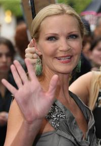 Joan Allen at the premiere of