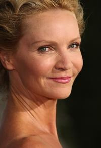 Joan Allen arrives at the premiere of