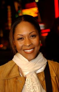 Monica Calhoun at the screening of