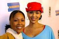 Monica Calhoun and LisaRaye at the screening of