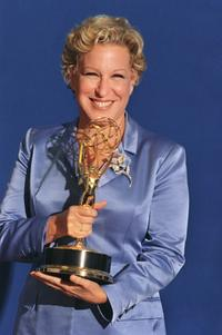 Bette Midler at the 49th Emmy Awards.