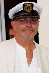 Nikita Mikhalkov at the photocall of