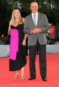 Nikita Mikhalkov and Guest at the premiere of