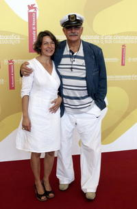 Nikita Mikhalkov and Guest at the photocall of