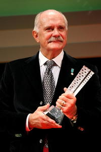 Nikita Mikhalkov at the 21st Tokyo International Film Festival.