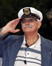 Nikita Mikhalkov at the premiere of