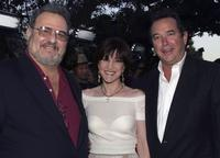 John Milius, Anne Thomopoulos and William MacDonald at the premiere of