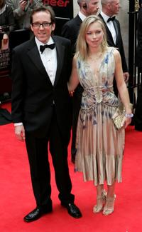 Ben Miller and Sarah Alexander at the Pioneer British Academy Television Awards 2006.