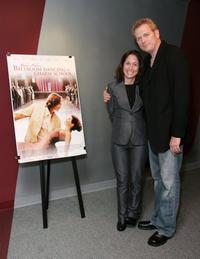 Jody Savin and Randall Miller at the screening of