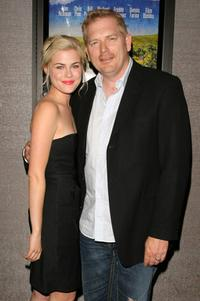 Rachael Taylor and Randall Miller at the premiere of