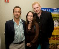 J. Todd Harris, Jody Savin and Randall Miller at the special screening of