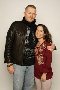 Randall Miller and Jody Savin at the 2008 Sundance Film Festival.