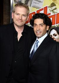 Randall Miller and producer Henry Suarez at the premiere of