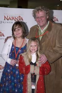 Mark Mitchell, Dana Mitchell and Alex Mitchell at the premiere of
