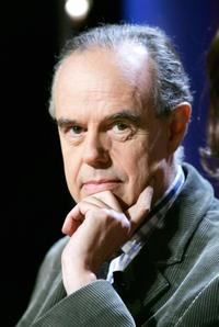 Frederic Mitterrand at the recording of the TV show