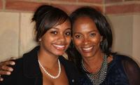 Alexandra and Vanessa Bell Calloway at the Debbie Allen Dance Academy's Annual fundraiser.