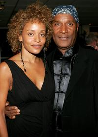 Stacy J and Paul Mooney at the world premiere of