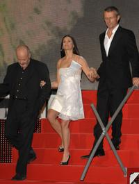 Demi Moore, Michael Radford and Lambert Wilson at the closing Ceremony of 55th San Sebastian International Film Festival, presents the movie