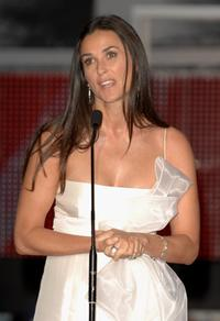 Demi Moore at the closing Ceremony of 55th San Sebastian International Film Festival, presents the movie