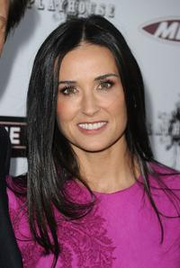 Demi Moore at the California premiere of