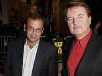 Rick Moranis and Dave Thomas at the premiere of