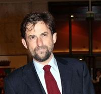 Nanni Moretti at the Italian Film Academy's 50th David di Donatello Awards Ceremony.