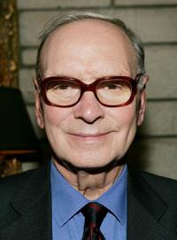 Ennio Morricone at the Society of Composers and Lyricists Annual Champagne Reception.