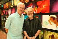 John Musker and Ron Clements in