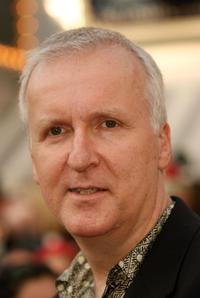 James Cameron arrives at the world premiere of
