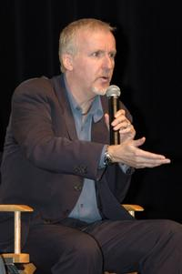 James Cameron at the DLP Cinema's