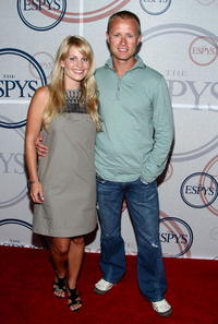 Candace Cameron and Valeri Bure at the ESPYs Giant Event Hosted By Eli Manning.