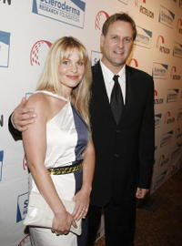 Candace Cameron and Dave Coulier at the