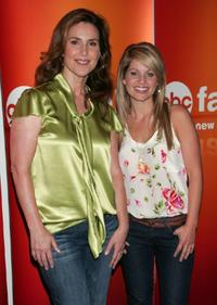 Peri Gilpin and Candace Cameron at the 2009 Disney & ABC Television Group summer press junket.