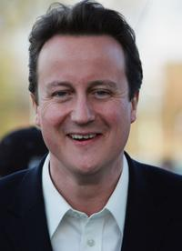David Cameron during his visit to United Estates Community Enterprise Project.