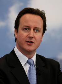 David Cameron at the 60th anniversary of the National Health Service.