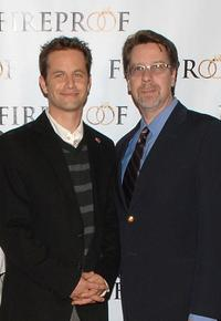 Kirk Cameron and Bob Rubin at the premiere of