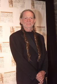 Willie Nelson at the Songwriters Hall of Fame 32nd Annual Awards.