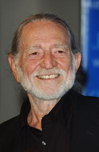 Willie Nelson at the Kerry Victory 2004 Concert.