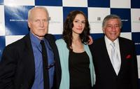 Paul Newman, Julia Roberts and Tony Bennett at the